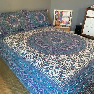Anthropology Hippie Bohemian Bedspread Tapestry